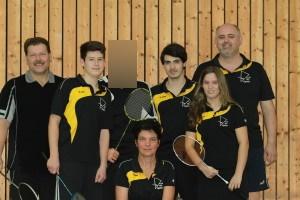 Dritte Mannschaft 2013/14: Karl, Lucas, Benjamin, Manu, Jens, Jessica, Günther